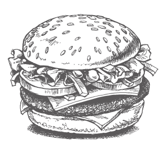 Sketch of Hamburger
